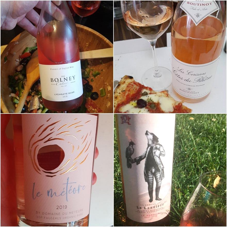 Best Rose wines 2020 - southern French and English wine