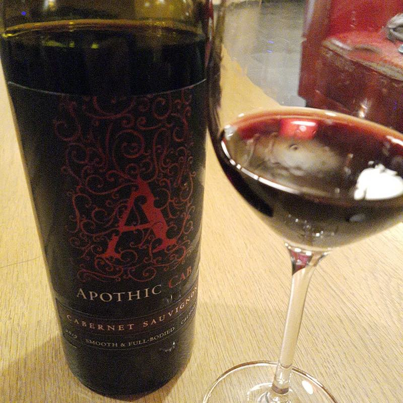 Apothic Cab  - Californian Red wine 2019