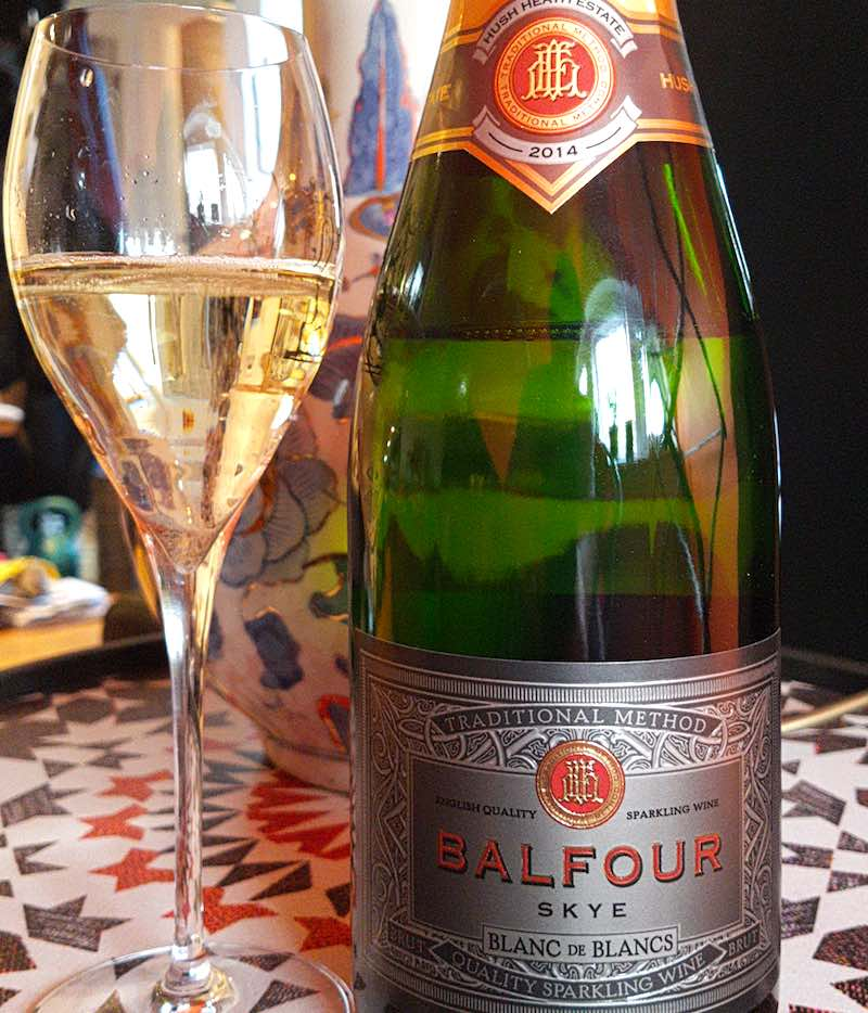 Balfour Skye's Blanc De Blancs 2014, Hush Heath Estate, England
