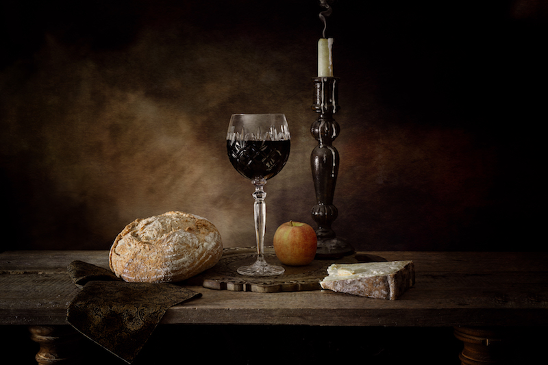 3rd Prize: Andrew Barrow, Wine and Cheese - Errazuriz Wine Photographer of the Year