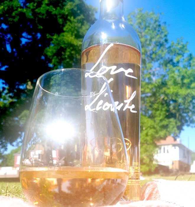 leoube love rose wine from Provence
