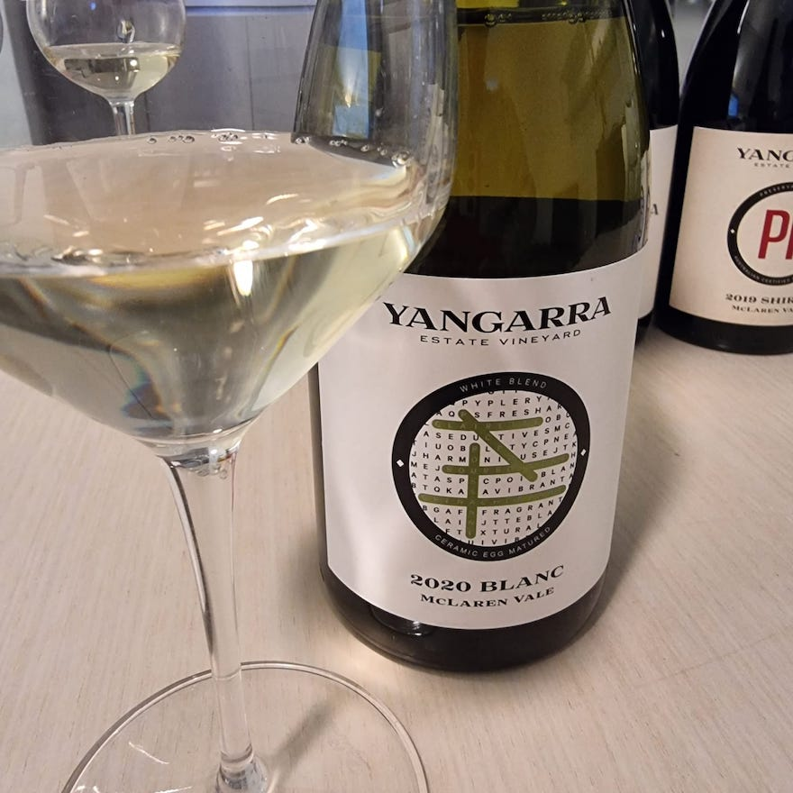 2020 Blanc Yangarra Estate Wines