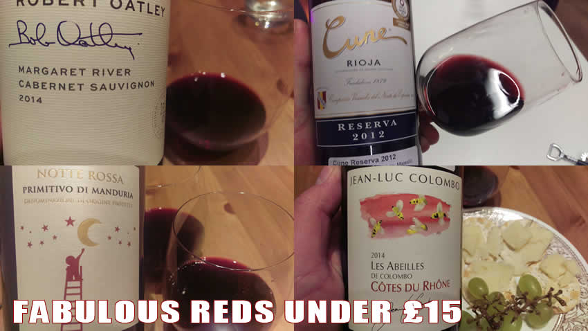 red wine tips under 15 pounds