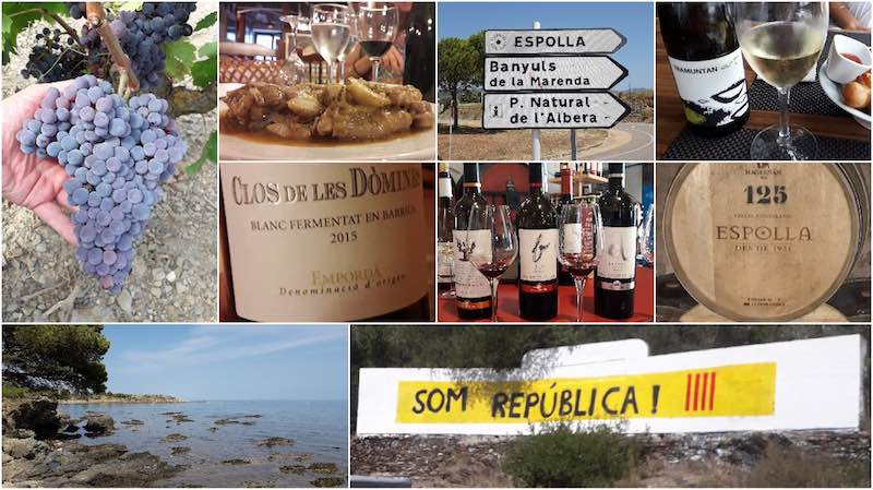 Wine tasting in Catalonia - Espolla to Cadaqúes
