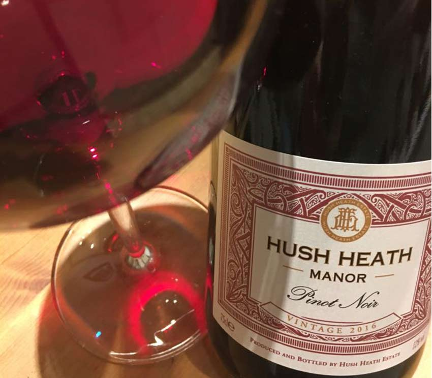 Hush Heath Estate Pinot Noir 2016