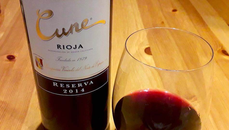 cvne rioja reserva 2014 review cover