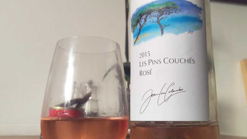 Jean-Luc Colombo Pins Couches Rosé 2015