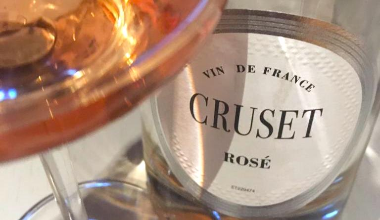 Cruset rose wine - vine de France