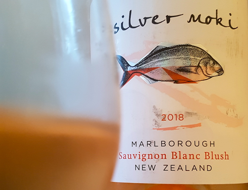 Silver Moki sauvignon blanc blush Marlborough new Zealand wine